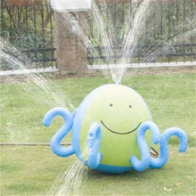 Kids Inflatable Water Spray Ball Sprinkler Octopus Squirt Lawn Pool Toy Fun PVC Outdoor Swim Accessories