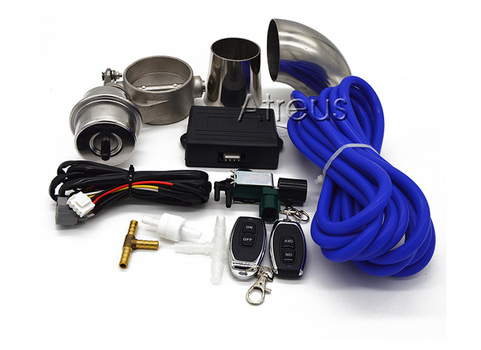Выхлопной Управление клапан комплект с вакуумным приводом для BMW G30 F30 F10 E46 E90 E60 E39 E36 F20 X5 E53 E70 F15 X1 X6 E30 E87 E92 E91