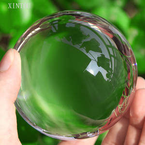XINTOU Ball K9 Crystal Glass Decor Globe Feng shui Sphere