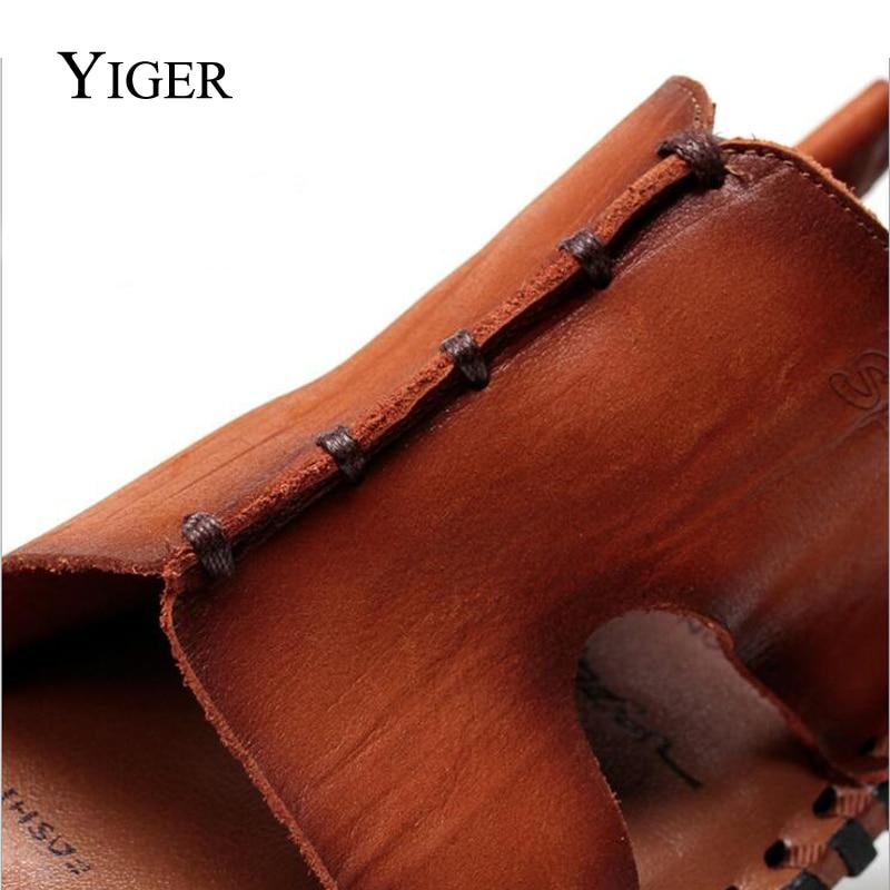 YIGER NEW Տղամարդու սանդալներ կոշիկ - Տղամարդկանց կոշիկներ - Լուսանկար 3