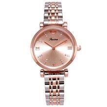 2019 New Rhinestone Women Watches Elegant Silver Dress Watch Stainless Steel Casual Ladies Clock montre femme