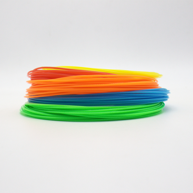 5 Pieces (Min. Order) 10M 3d PLA Filament 1.75mm Material 3D Printer Pen Filament high temperature glowing filment flament 4