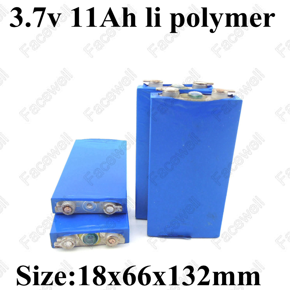 1pc 1866132 37v 10000mah Lithium 10ah Polymer Battery High Circuit Diagram With Auto Cut Off Ebike Lifepo4 Ion 36v 8a 4pcs Real Lipo Drain 30a For