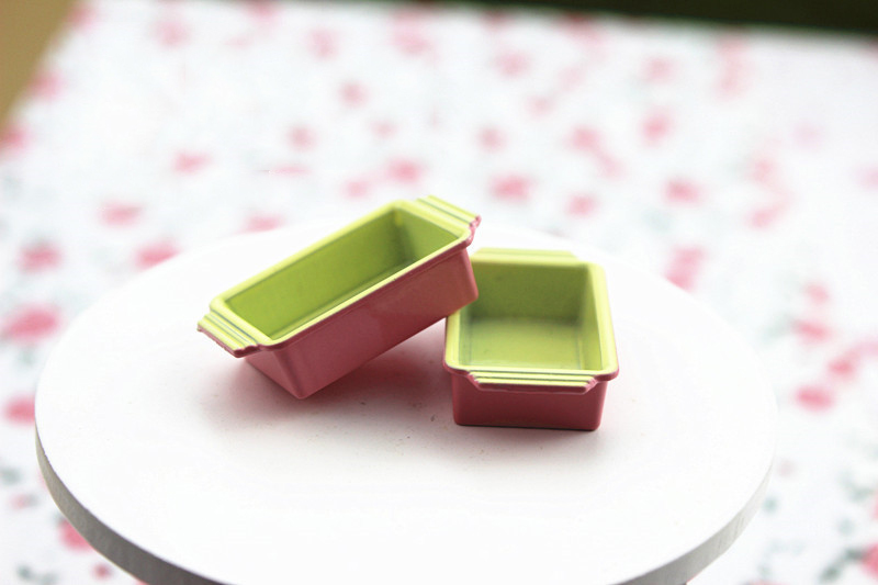 Wholesale 1:12 Dollhouse Miniature Mini Lunch Box Doll Accessories Toy Match For Forest Animal Family Collectible Gift 2018