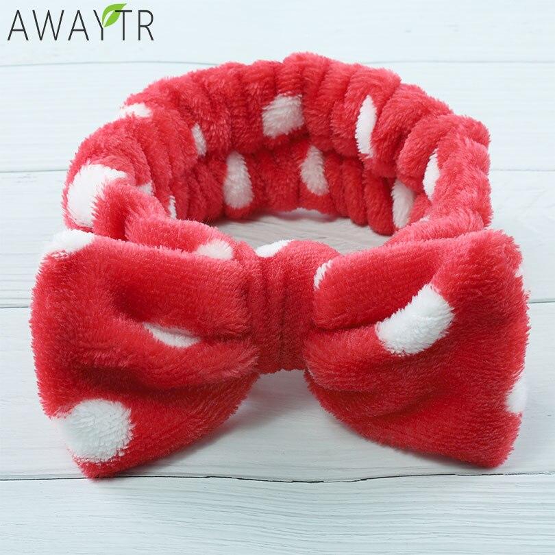 Lovely Elastic Rabbit Ear Headband For Women Girls Makeup Face Washing Headbands Headwrap Hairband Hair Accessories Apparel Accessories