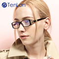 TenLon Glasses mature women elegant eyeglasses oculos de grau feminimos oculos clear lens eyewear female reading glasses  CL2-3