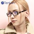 TenLon Glasses mature women elegant eyeglasses oculos de grau feminimos oculos clear lens eyewear female reading glasses  CL2-3
