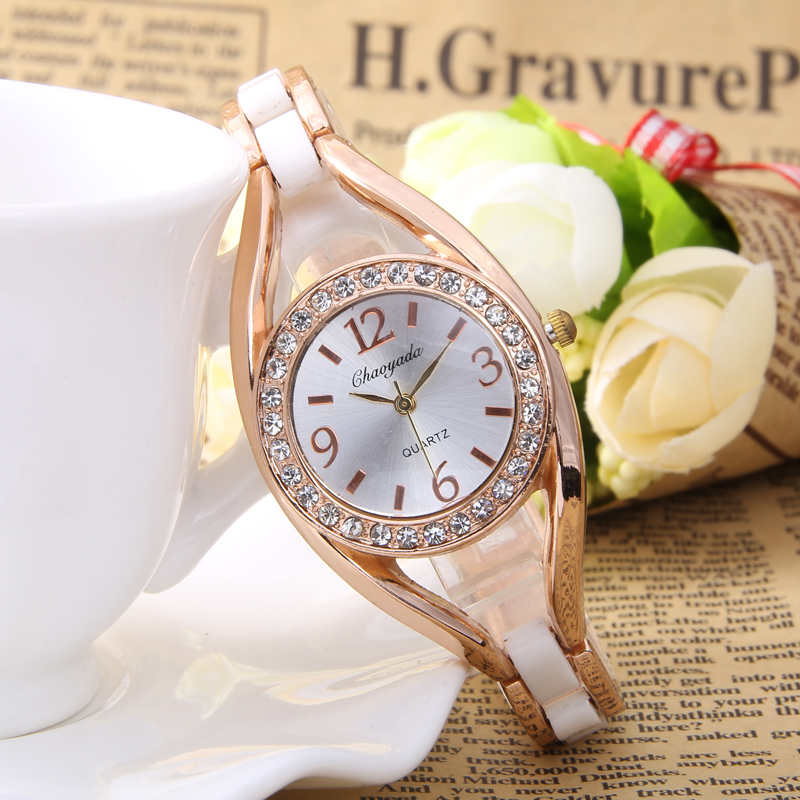 Watches Women 2016 Montre Femme Relogio Feminino New Fashion Hours Casual Bracelet Woman Quartz Wrist Watch Dress Women Clock