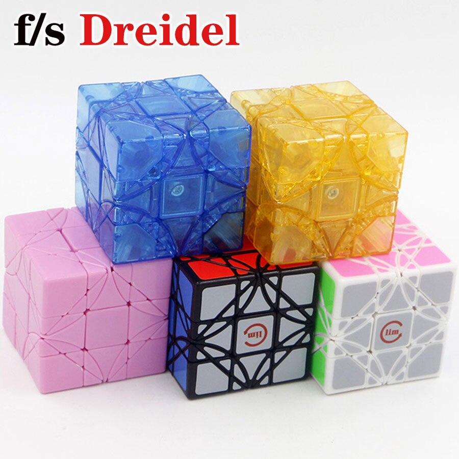 Magic cube puzzle fs limCube Dreidel 3x3x3 super corner special shape cube educational speed twist wisdom