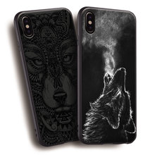 Wolf Phone Case iPhone 5 5s Se 6 6s 7 8 Plus X XR XS MAX