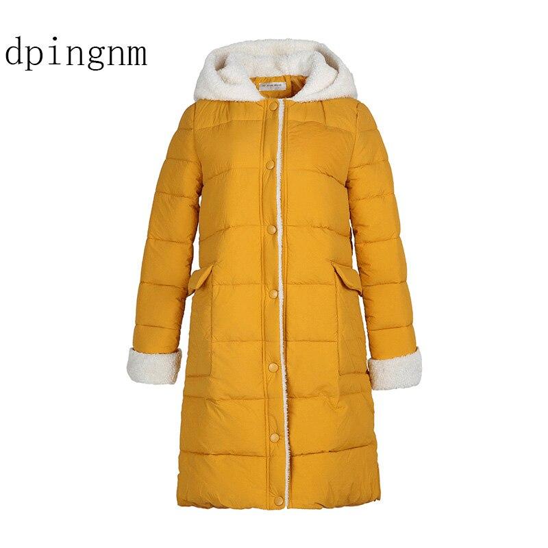 Big Size Women Jackets woman   parka   Winter 2018 female Jacket Warm winter cotton coat women fur hoodies women's long   parkas   J2645