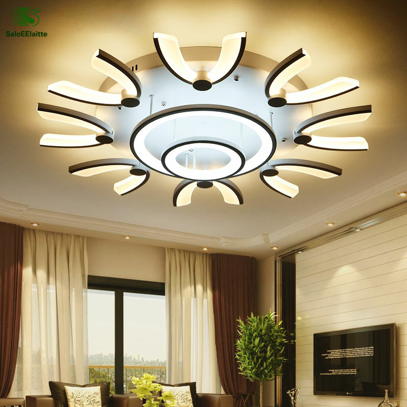 Modern Simple Metal Led Ceiling Lights Lamparas Lustre Acrylic Bedroom Led Ceiling Lamp Luminarias Led Ceiling Lamp Fixtures