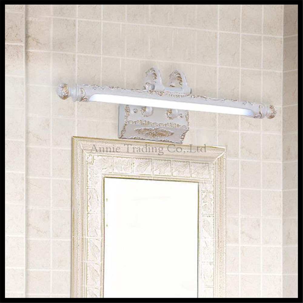 110v 240v 9w 68cm European Led Bathroom Mirror Lights Vintage Retro Toilet Kitchen Cabinet Light