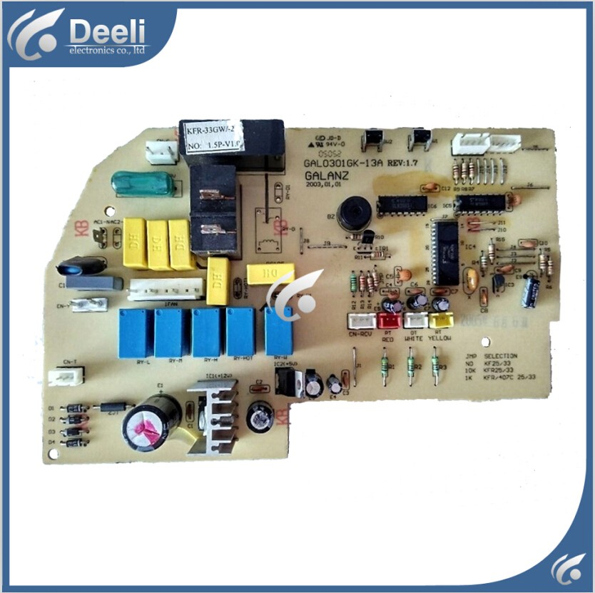 ФОТО 95% new used good working for air conditioning board GAL0301GK-13A PCB board