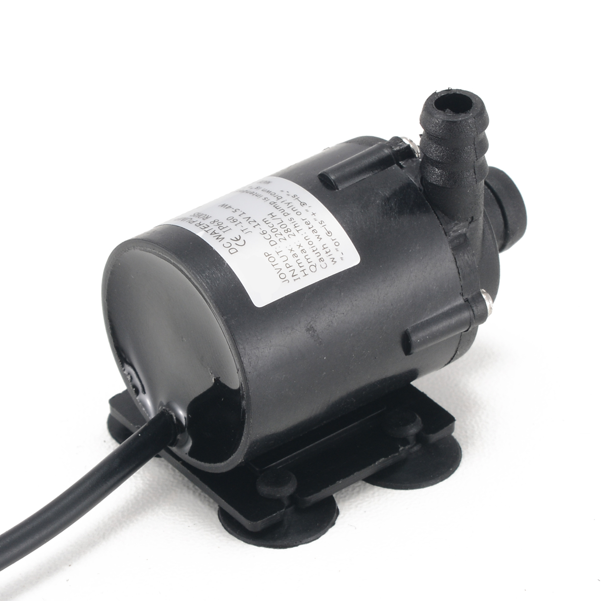 Miniature Black Submersible Water Pump 280L/H 12V DC Brushless Small Submersible Motor Water Cooling Pump Garden Pond цена