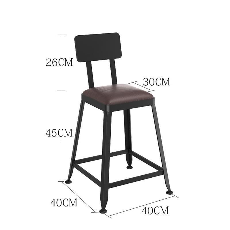 Sedie Industriel Silla Sedia Sgabello Barstool Taburete La Barra Shabby Chic Tabouret De Moderne Stool Modern Cadeira Bar Chair