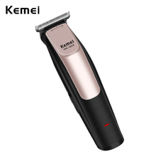 100 240V Kemei Professional Hair Clipper Rechargeable Hair Trimmer Clipper Haircut Barber Styling Cutting Machine  USB Charging