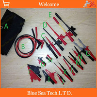 Automobile Maintenance Multimeter Industry Test Tool Kids Sets Piercing Clip Test Hook Alligator Clip Tip Probe