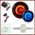 "2 ""52mm Turbo Boost Calibre EVO LCD Digital Com Turbo Sensor Red/Blue Display LED"