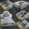 8 caixas / Set montado de plástico Gun modelo 1 : 6 Machine Gun MG42 M16A1 Rifle Submachine brinquedos clássicos capa dura de plástico em caixa