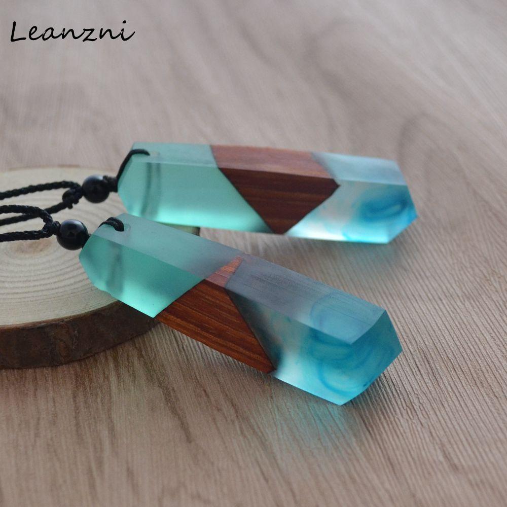 Resin Wood Cufflinks Wood Resin Jewelry for Men
