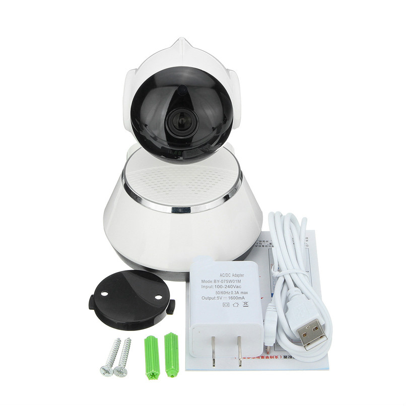 Seven PromiseIP Camera Wifi HD720P Wireless Baby Monitor 1.0MP P2P Support APP Remote Control IR-Cut Security IP Camera CCTV baby monitor camera wireless wifi ip camera 720p hd app remote control smart home alarm systems security 1mp webcam yoosee app