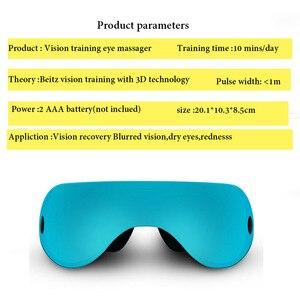 Image 2 - Eye Massager Restore Vision Training Recovery Eye Massager Eye Instrument Wireless 3D Child Myopia Treatment Massage Eye Glasses