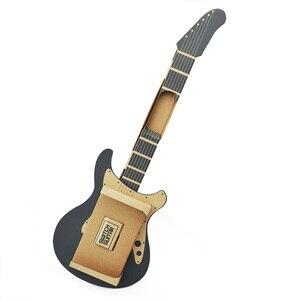 Image 4 - ThundeaL Gardboard DIY guitarra para Nintendo Switch Labo Joy con, variedad de guitarras, Kit de música para jugar en el garaje con juguetes