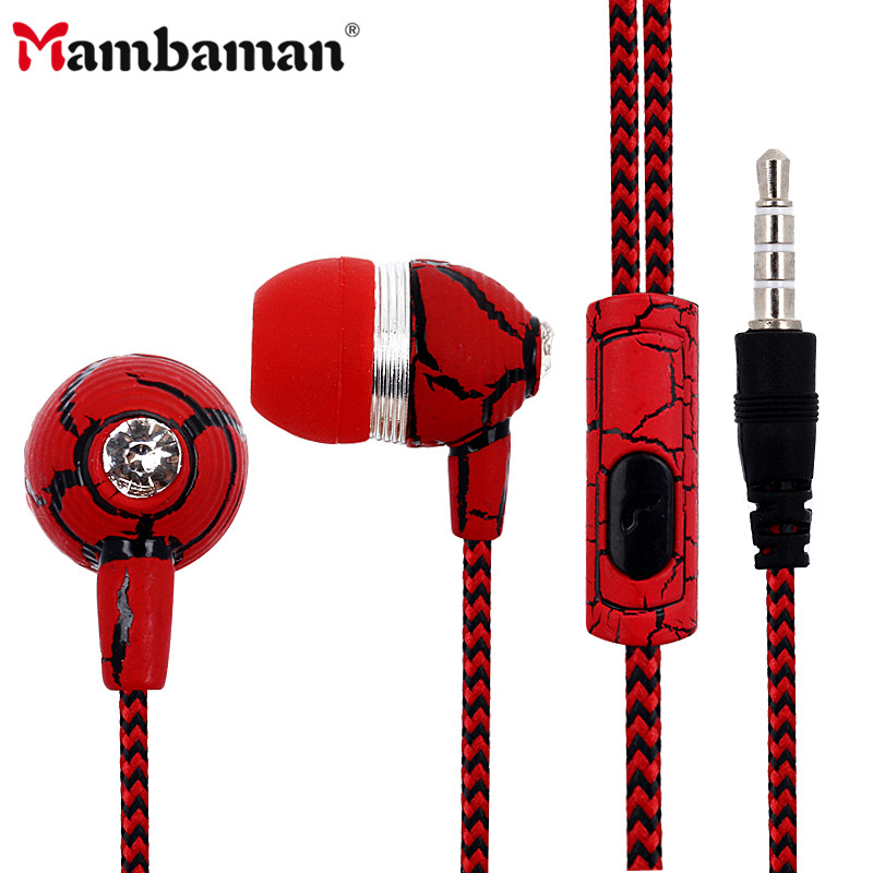Mambaman ME19 Universal Earphone High Quality 3.5mm In-Ear Earbuds Stereo Music Headset with Mic for Gaming Player Xiaomi Huawei mambaman me17 stereo earphones 3 5mm bass headset in ear portable earbuds with microphone for huawei xiaomi iphone 6 mp3 player