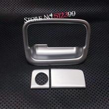 3PCS/ Set Car Interior Accessories Storage Box handle Cover Frame Trim for Honda CRV CR-V 2017 2018 Car Styling