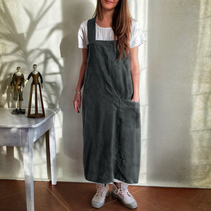 Maternity Clothings 2018 Pregnancy Baggy Dress Casual Loose Solid Spaghetti Strap Backless Pockets Pregnant Dresses Plus Size