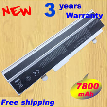 white 7800mAH battery For Asus Eee PC EEE 1215 PC 1215b 1215N 1015b 1015 1015bx 1015px