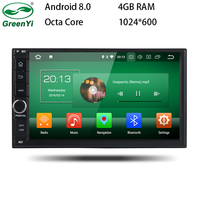 GreenYi Octa Core 7 2 Din Android 8 0 Car DVD Radio Multimedia Player 1024 600