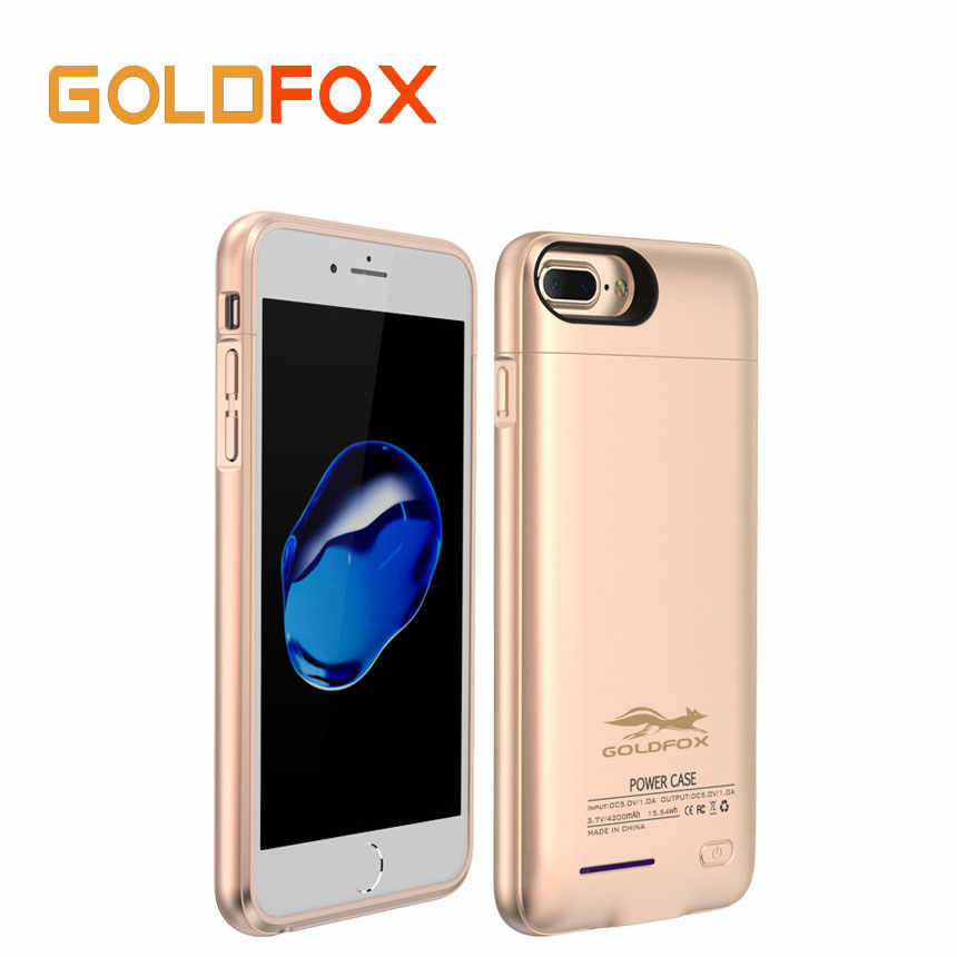 for iPhone 6 6S 7 External Battery Case Power Bank Charger Case for iPhone 6 /6s / 7 Plus Powerbank Cover Case  3000/4200mAh
