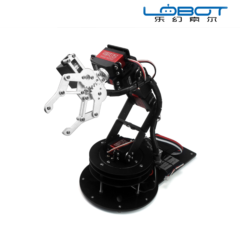 6 degree of freedom mechanical arm mechanical claw robot teaching robot platform app control special new 17 degrees of freedom humanoid biped robot teaching and research biped robot platform model no electronic control system