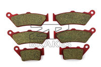 Ceramic Brake Pads Front + Rear For DTCATI Paul Smart 1000 LE 992cc 2006 OEM New High Quality ZPMOTO