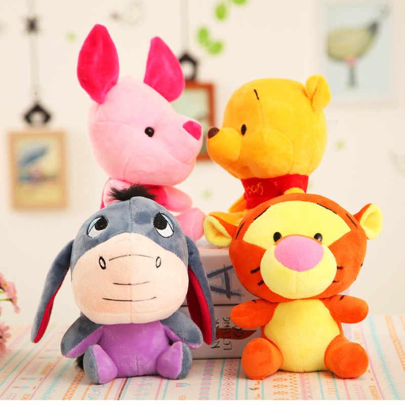 """Disney Винни Пух Микки Маус Минни, Ститч кукла Ститч """"Лило и Стич"""" Плюшевые игрушки куклы 20 см подарок на день рождения для детей"""