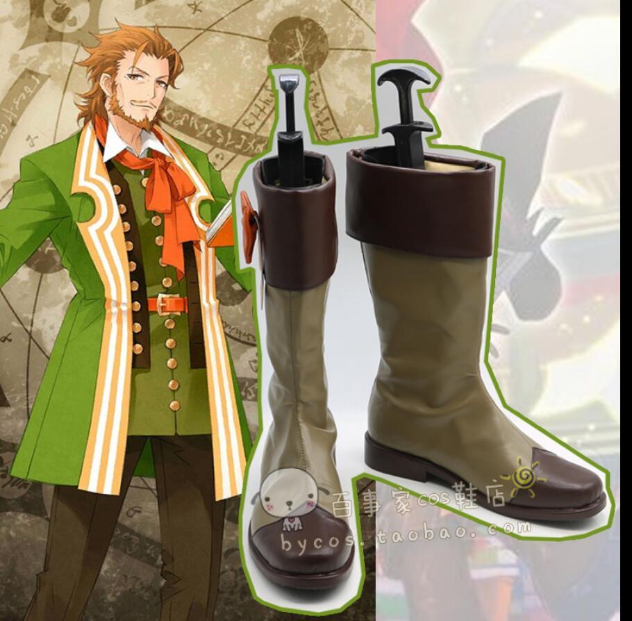 fate grand order FGO lolita  cosplay costume Anime Shoes boots punk  Custom