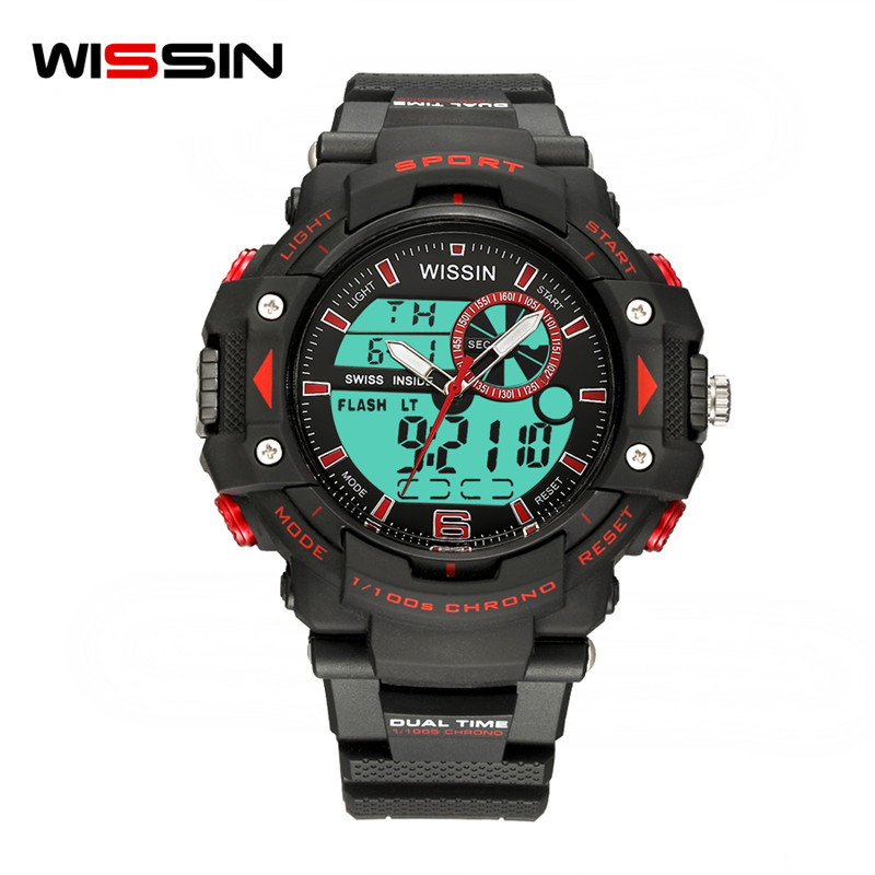 WISSIN New top brand Luxury digital Wristwatches LED men watch sport quartz Military man waterproof clock relogio masculino saat sinobi men s top luxury brand sport watches men led digital waterproof stainess steel quartz watch man clock relogio masculino