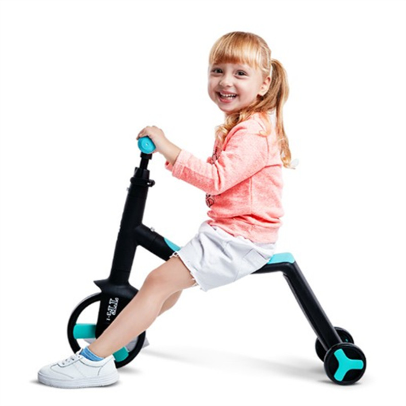 Children Kick Scooter Baby Kid's Bicycle  Baby stroller 3 in 1 Fashing Outdoor Toy 2-6 Years Old Walker Bike Russian Federation 45cm baby stroller sit to stand learning walker multifunction outdoor toy ride on car stokke activity walker gift for baby