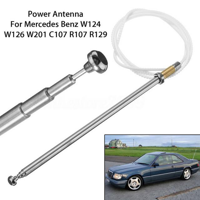 Details About Mercedes R107 W123 Radio Power Antenna Oem Hirschmann on