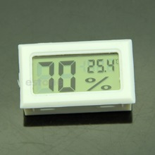 Nice F85 LCD Digital Temperature Humidity Meter Gauge Thermometer Hygrometer 10 99 RH White