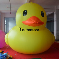 inflatable big yellow duck,pvc inflatable advertising toys games,customized made Advertising Inflatables products