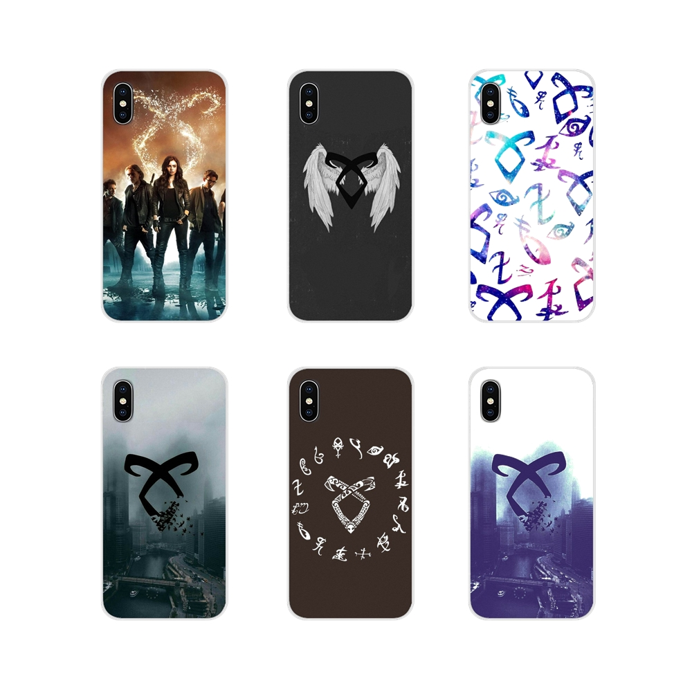 Accessories Phone Shell Covers For Motorola Moto X4 E4 E5 G5 G5S G6 Z Z2 Z3 G3 G2 C Play Plus Shadowhunters Runes