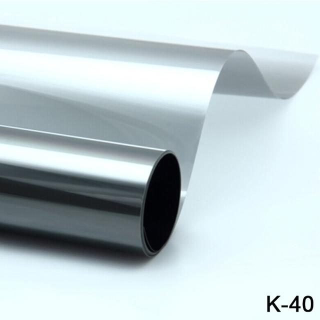 Alta calidad!! 1.52*30 M anti-ultravioleta de alta definición de Alta aislamiento de calor window film K-40