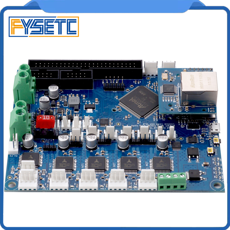 Cloned Duet Ethernet Advanced 32 Bit Electronics Board Providing Ethernet Connectivity For Control Of 3D Printers CNC Machines цена