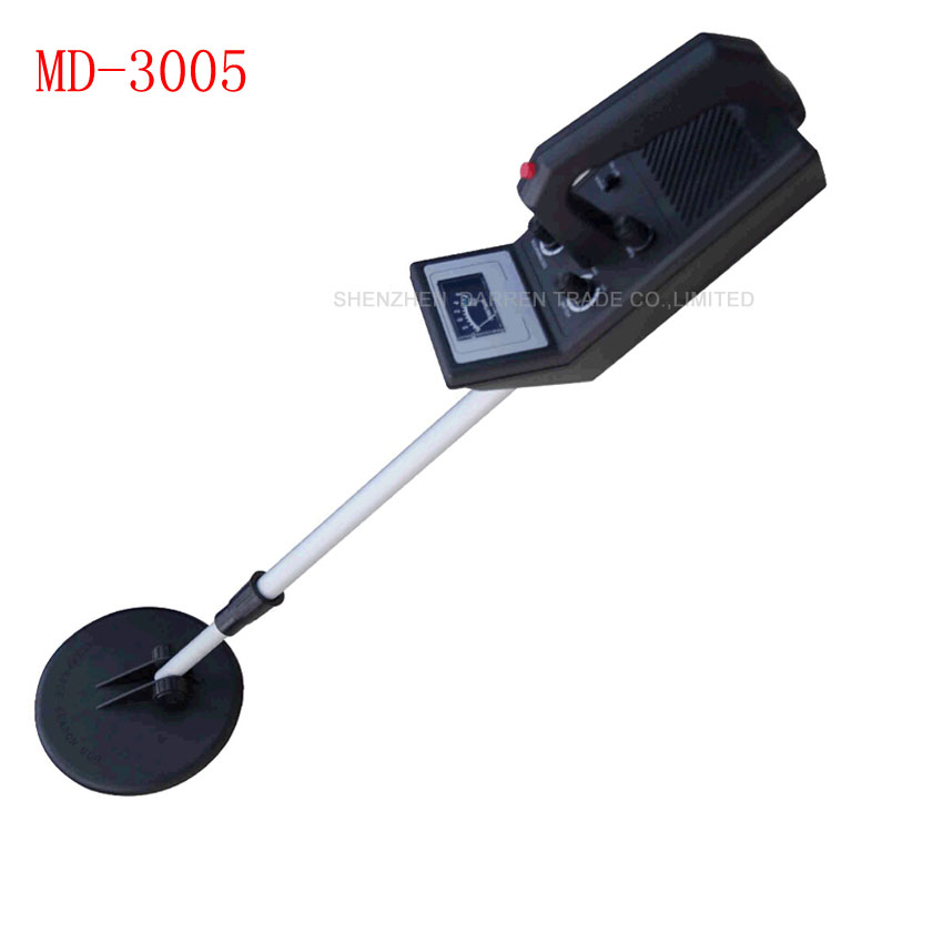 ФОТО 6PCS  MD-3005 Precision Gold Beginner Metal Detector