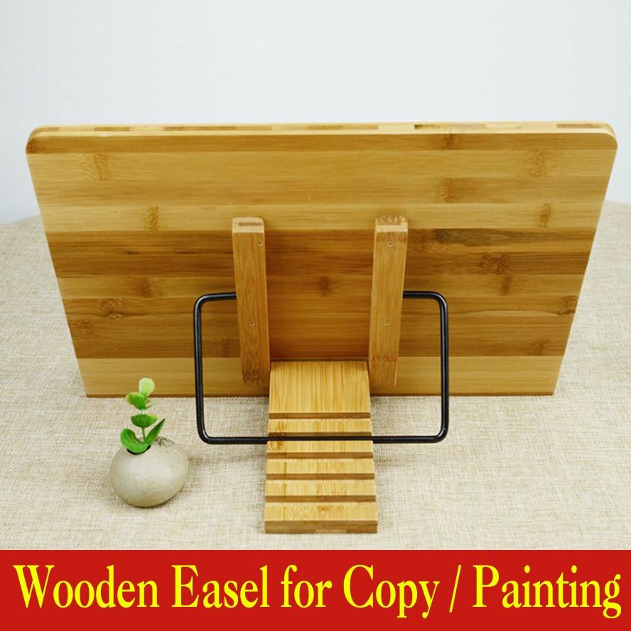 Chevalets porte-copie en bois pour Trace de copie fournitures de peinture multifonctionnelles ensemble d'art de chevalet d'esquisse