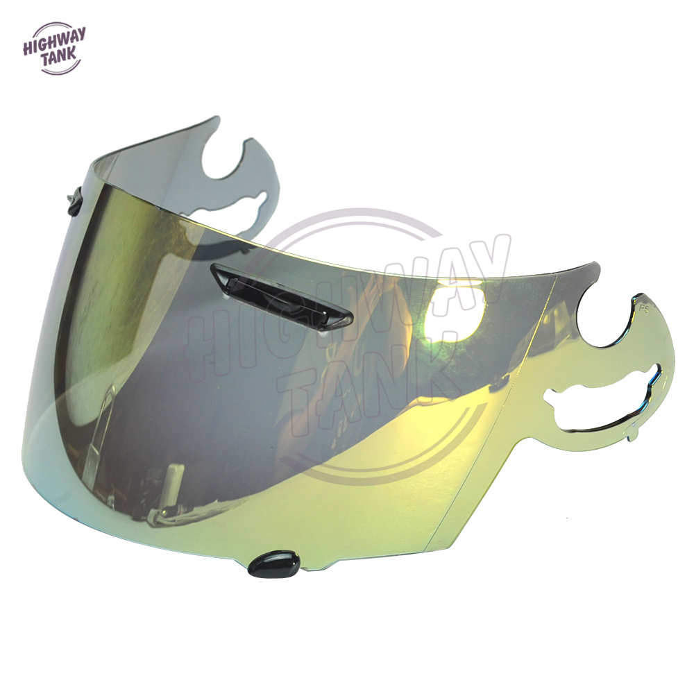 Silver Motorcycle Helmet Visor Shield for ARAI RR5 RX-7 RX7 GP CORSAIR-V