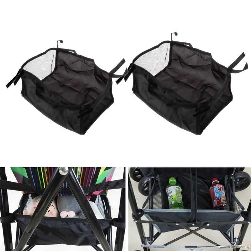 2018 для детских ходунков Корзина Коляска для новорожденных висячая Корзина Коляска нижний Органайзер сумка Sep19_17